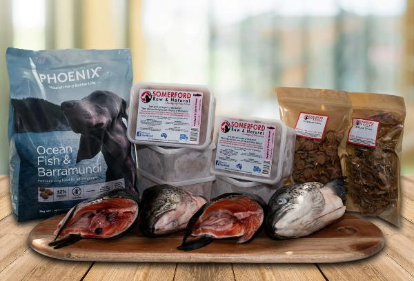 Seafood Mixed Feeder Pack - Somerford Raw Protein Boost & Phoenix