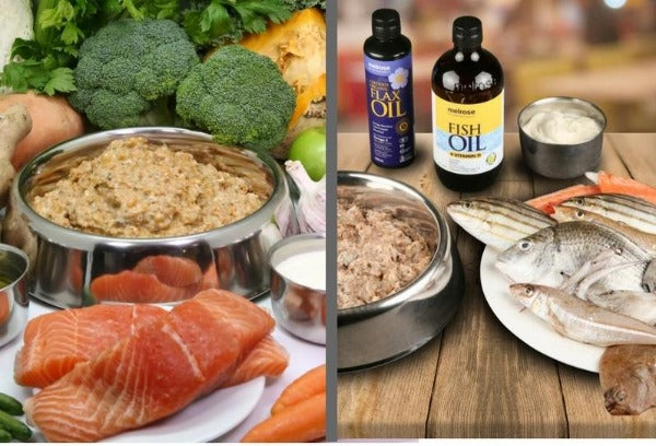 Somerford Raw & Natural - Large Dog Food Tasmanian Salmon & Seafood Protein Boost Pack + FREE Meaty Bones
