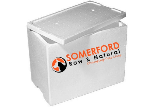 Somerford Raw & Natural - Dog Food Protein Boost Bulk Box 20kg