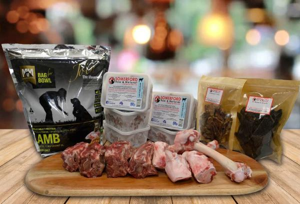 Lamb Mixed Feeder Pack - Somerford Raw Protein Boost & Meals for Mutts