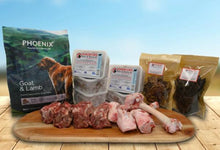 Lamb & Goat Mixed Feeder Pack - Somerford Raw Protein Boost & Phoenix