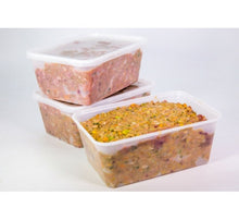 Somerford Raw & Natural - TURDUCKEN & VEG Pack + FREE Meaty Bones + FREE DEHYDRATED TURKEY NECKS