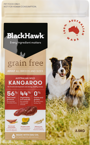 Black Hawk - Adult Grain Free Kangaroo
