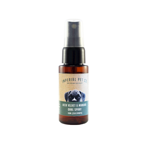 Oral Spray With Deer Velvet and Manuka - Imperial Pet Co
