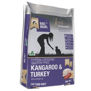 Meals for Meows Kangaroo & Turkey