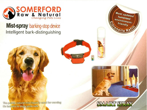 No Bark Spray Collar Battery Operated