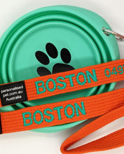 Custom Embroidered Pet Lead
