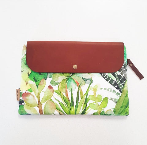 CACTUS BLOOM LARGE NAPPY CLUTCH/WALLET