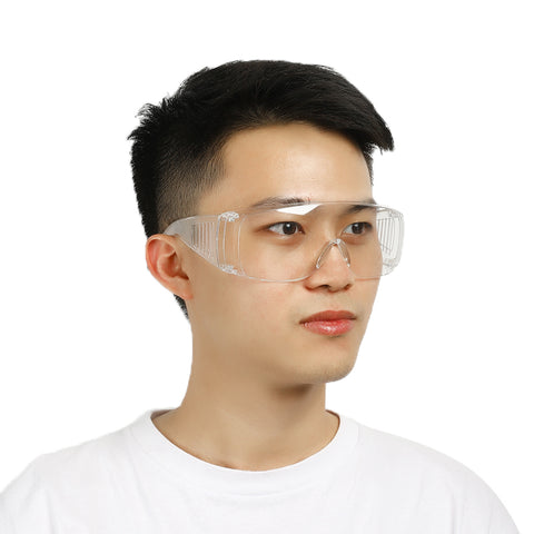Clear Eye Protective Safety Goggles Glasses