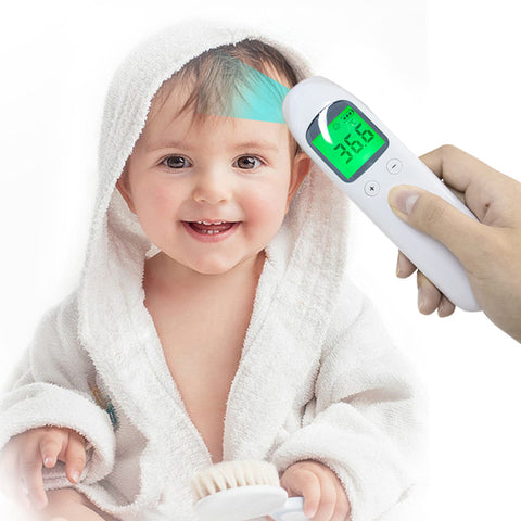 Touchless Thermometer, Forehead Thermometer, Thermometer For Adults Or Kids Thermometer For Fever