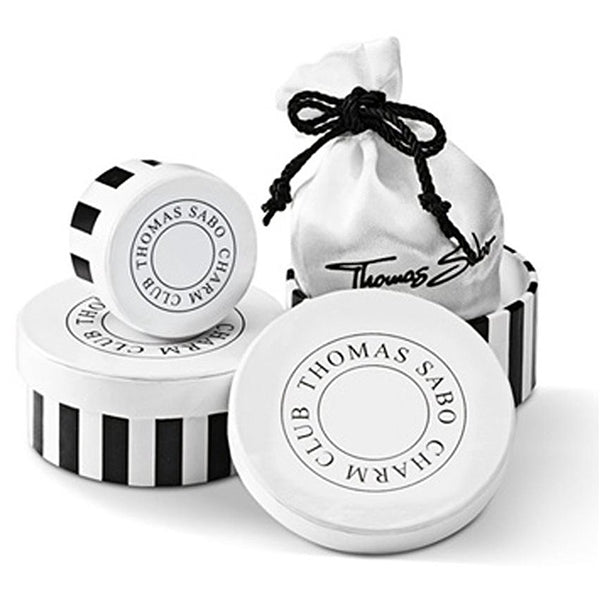 THOMAS SABO CHARM CLUB OBSIDIAN MATT BRACELET Packaging