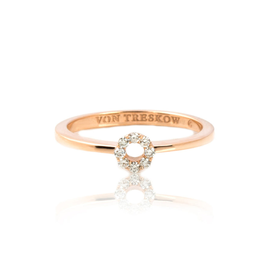 LUXE | HOLLOW HALO RING