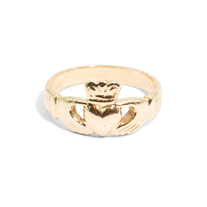 THE VIRGINIA | VINTAGE CLADDAGH RING