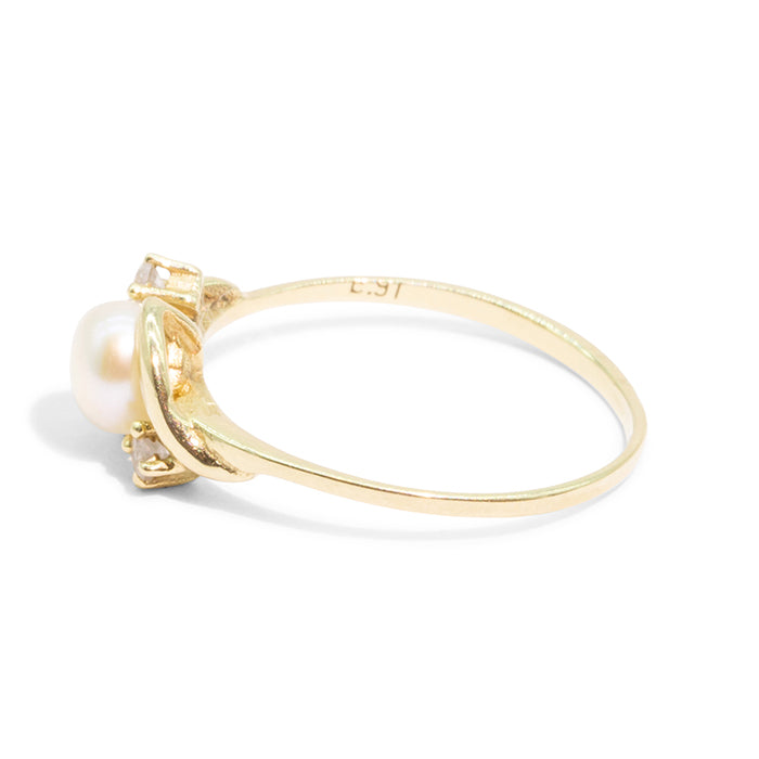 THE CLARA | VINTAGE FRESHWATER PEARL RING