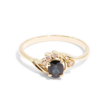 THE AMELIA | VINTAGE SAPPHIRE RING