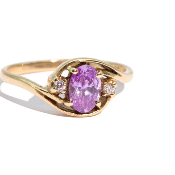 THE HEPBURN | VINTAGE CRYSTAL RING