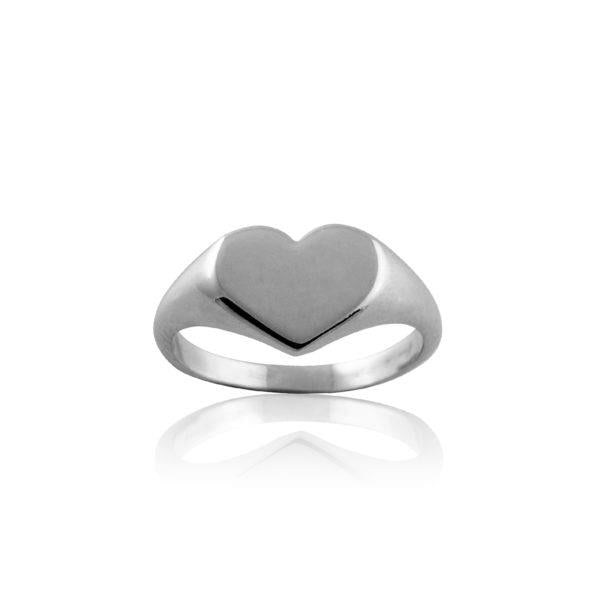 LUXE | HEART SIGNET RING