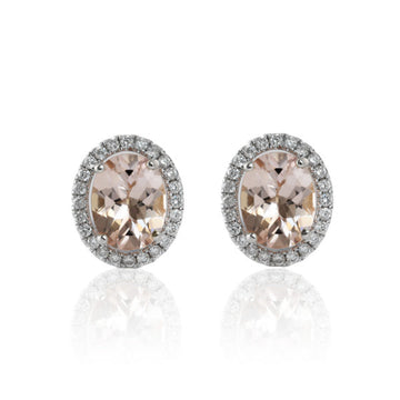 ASTORIA MORGANITE EARRINGS