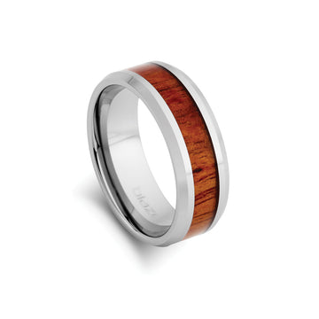 BLAZE TUNGSTEN YOHAN RING