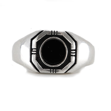 MENS BLACK HENNESSY RING