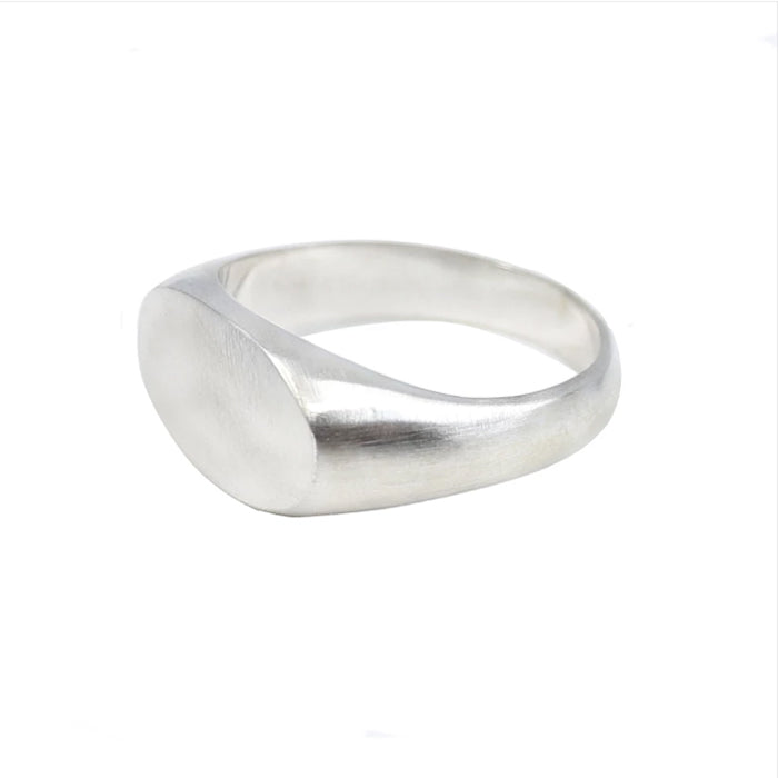 TONIMAY BRUSHED SIGNET RING