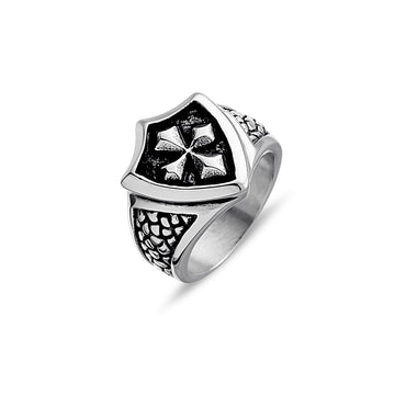 MENS SHIELD RING