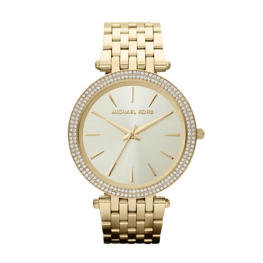 MICHAEL KORS GOLD-TONE DARCI WATCH