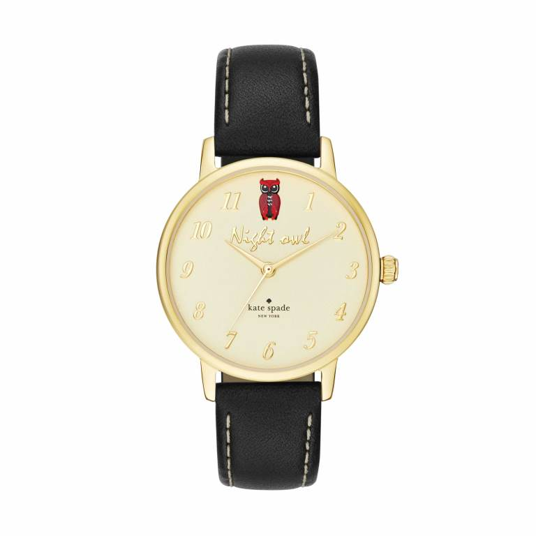 KATE SPADE METRO NIGHT OWL WATCH