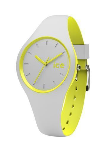 ICE DUO SMALL GRAY YELLOW WATCH