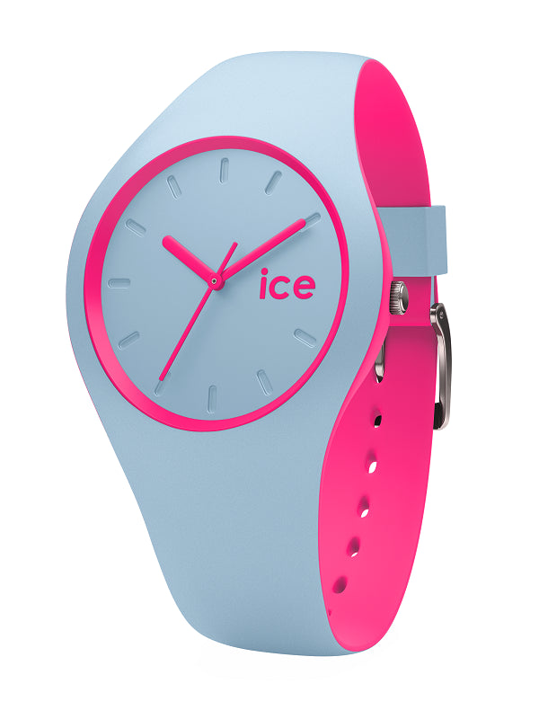 ICE DUO UNI BLUE PINK WATCH