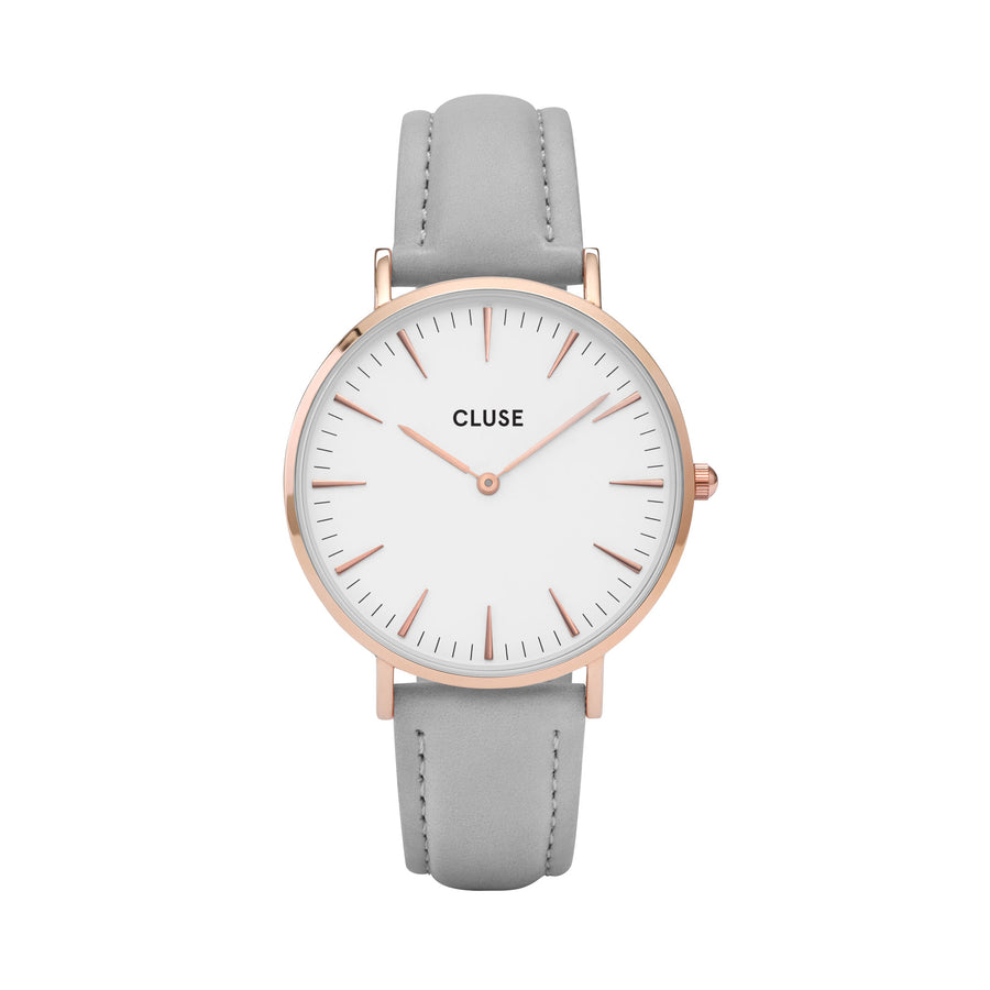 LA BOHEME ROSE GOLD WHITE/GREY WATCH