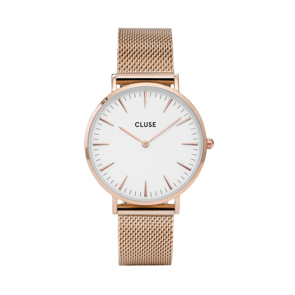 CLUSE LA BOHEME ROSE GOLD/WHITE WATCH