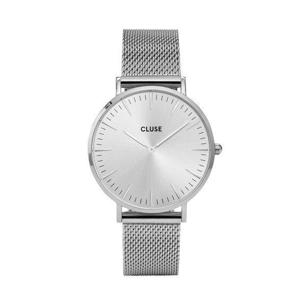 CLUSE LA BOHEME FULL SILVER WATCH