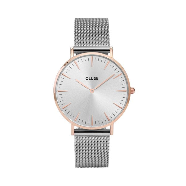CLUSE LA BOHEME ROSE GOLD/SILVER WATCH