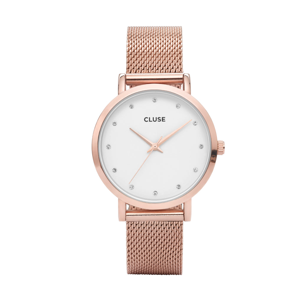 CLUSE PAVANE ROSE GOLD/WHITE WATCH