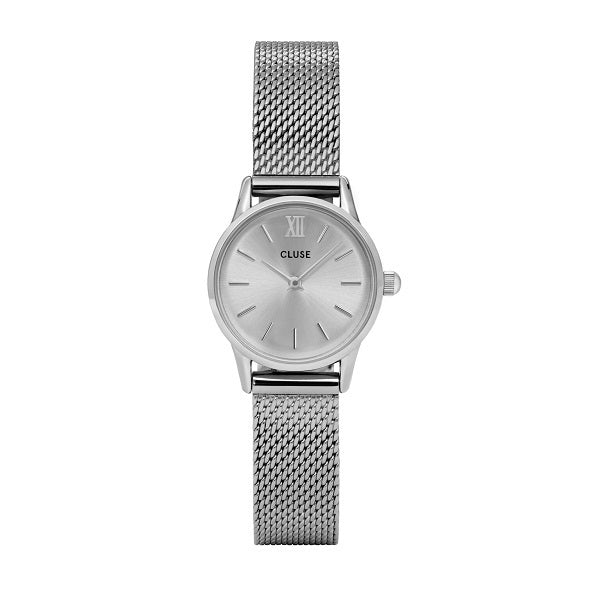 CLUSE LA VEDETTE MESH FULL SILVER WATCH