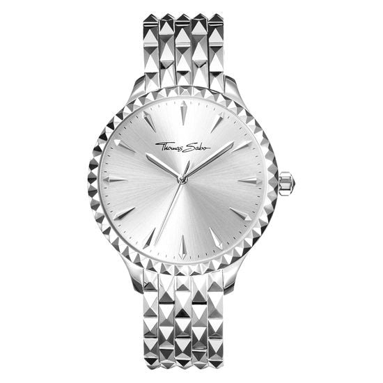 PYRAMID SILVER DIAL WATCH