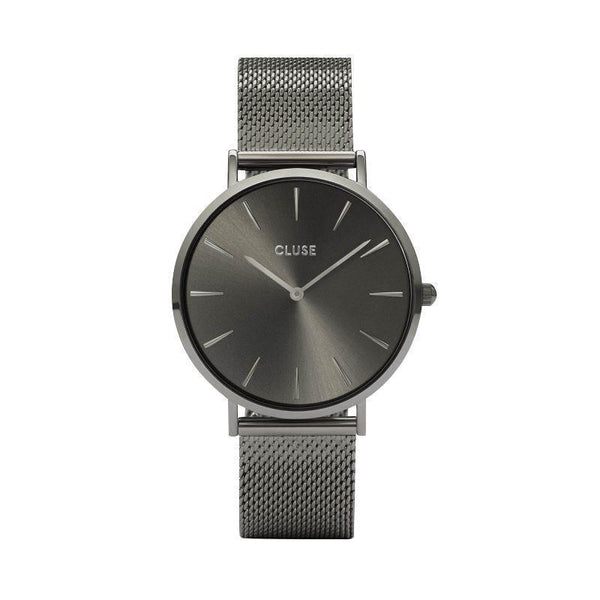CLUSE LA BOHEME DARK GREY WATCH