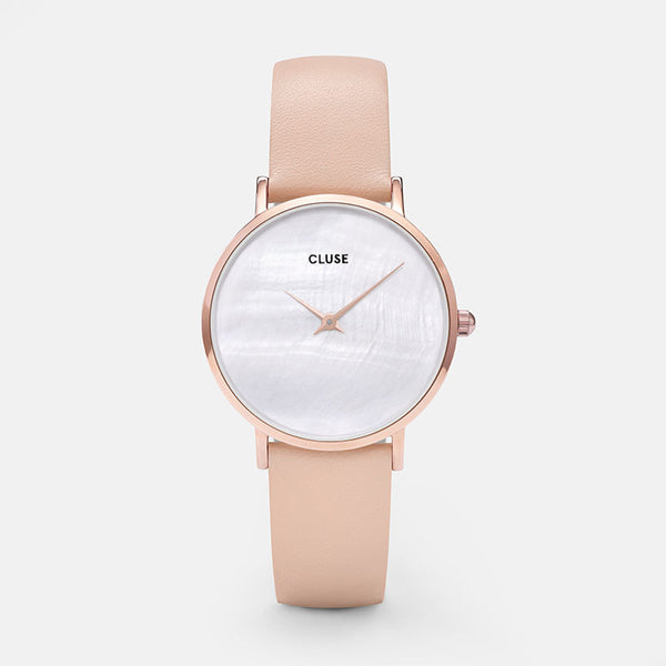 CLUSE MINUIT LA PERLE ROSE GOLD NUDE PEARL WATCH