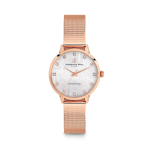 CHRISTIAN PAUL // ROCKHAMPTON LIMESTONE ROSE WATCH