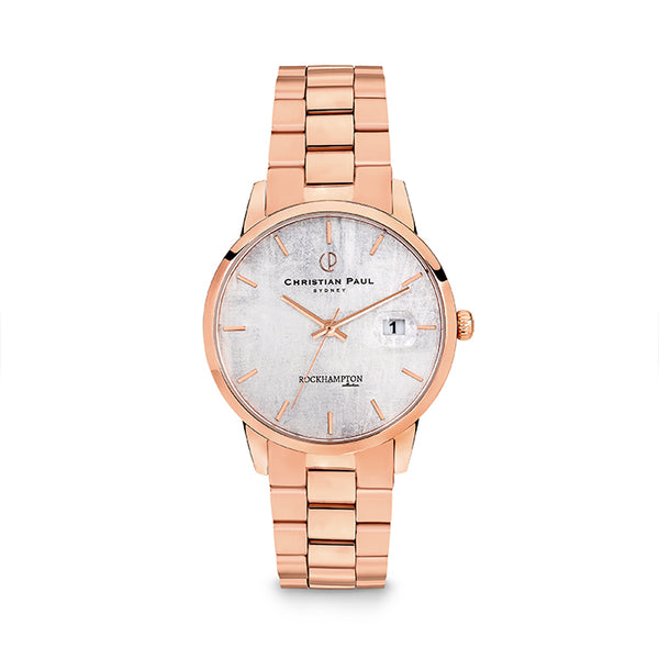 CHRISTIAN PAUL ROCKHAMPTON - LIMESTONE ROSE WATCH