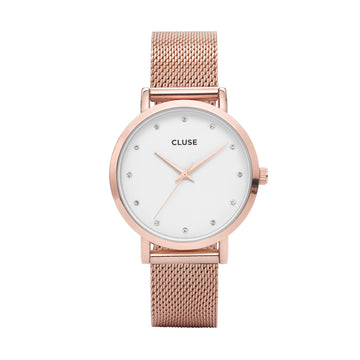 PAVANE ROSE GOLD/WHITE WATCH