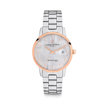 CHRISTIAN PAUL // ROCKHAMTON ROCK SILVER WATCH
