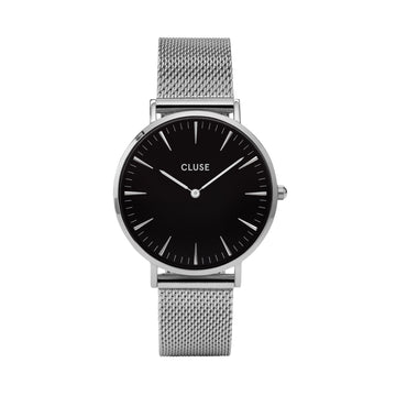 LA BOHEME SILVER/BLACK WATCH