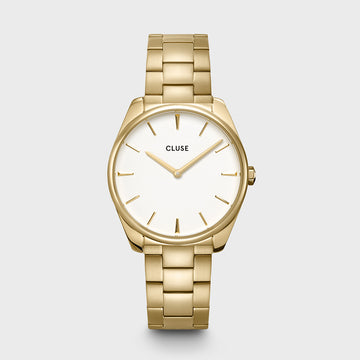 FEROCE GOLD/WHITE WATCH