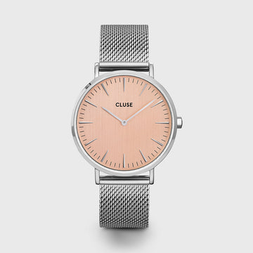 LA BOHEME SILVER/ROSE WATCH
