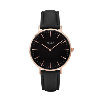 LA BOHEME ROSE GOLD BLACK/BLACK WATCH