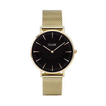 LA BOHEME GOLD/BLACK WATCH