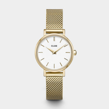 YELLOW GOLD PETITE LA BOHEME WATCH