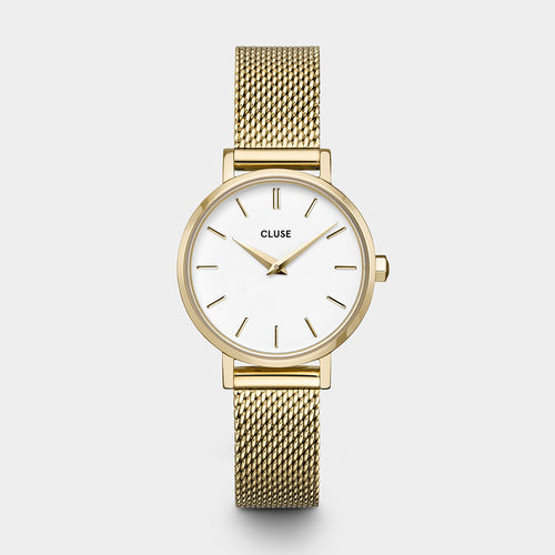 YELLOW GOLD PETITE BOHO CHIC WATCH